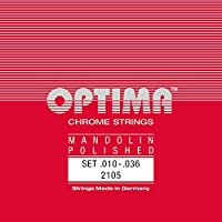 【国内正規品】OPTIMA オプティマ MANDOLIN CHROME STRINGS 2105 マンドリン弦セット 10-36