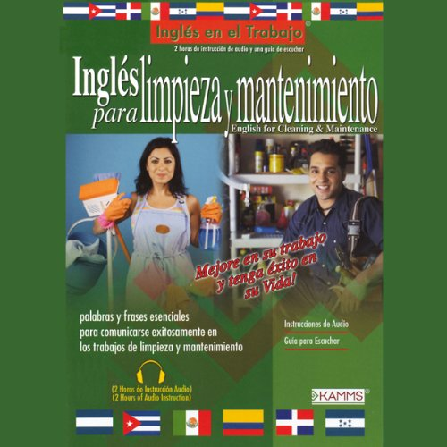 Ingles Para Limpieza Y Mantenimiento (Texto Completo) [English for Cleaning & Maintenance] audiobook cover art
