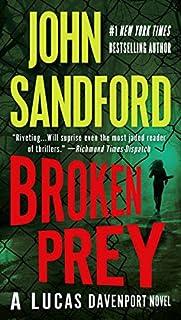 Broken Prey audiobook cover art