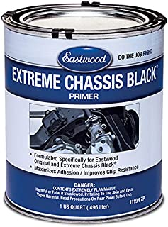 Eastwood Epoxy Adhesion Extreme Chassis Black Primer 1 Quarts Can
