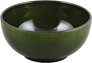 パール金属 漆器彩 クリーンコート 麺どんぶり 透緑 【山中塗】 K-6139