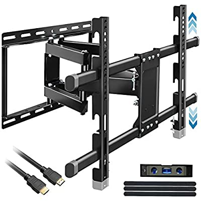 TV Wall Mount for 32-83 Inch TVs, Hight Adjustm...