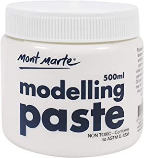 Mont Marte Modelling Paste Acrylic Medium 500ml (17oz)