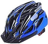 Lelesta Casco per Bambini, Casco da Pattinaggio Traspirante Casco da Bici Regolabile di Sicurezza per Bambini Casco da Bicicletta per Protezione Antiurto per La Testa Sportiva per Ciclismo (Blu)