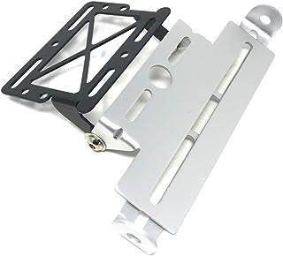 Blu portatarga regolabile in alluminio dal design universale EBTOOLS Telaio portatarga per auto