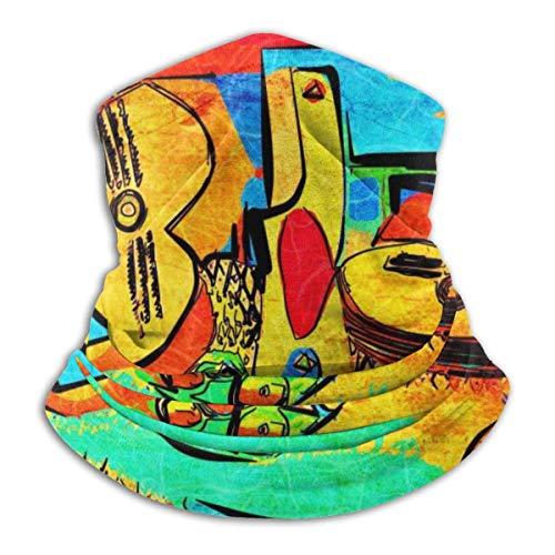 N/A Hals Gaiter Warmer Winddicht Gezichtsmasker Sjaal Outdoor Sport Masker Picasso Voor Stof Buiten Festivals Sport Winddicht Mannen En Vrouwen