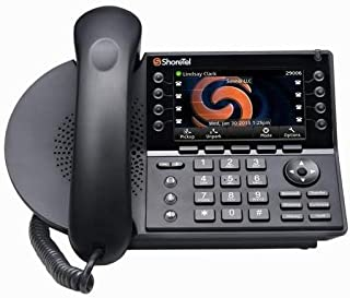 ShoreTel IP 485G (10436) Gigabit Color Display Phone (Power Supply Not Included)
