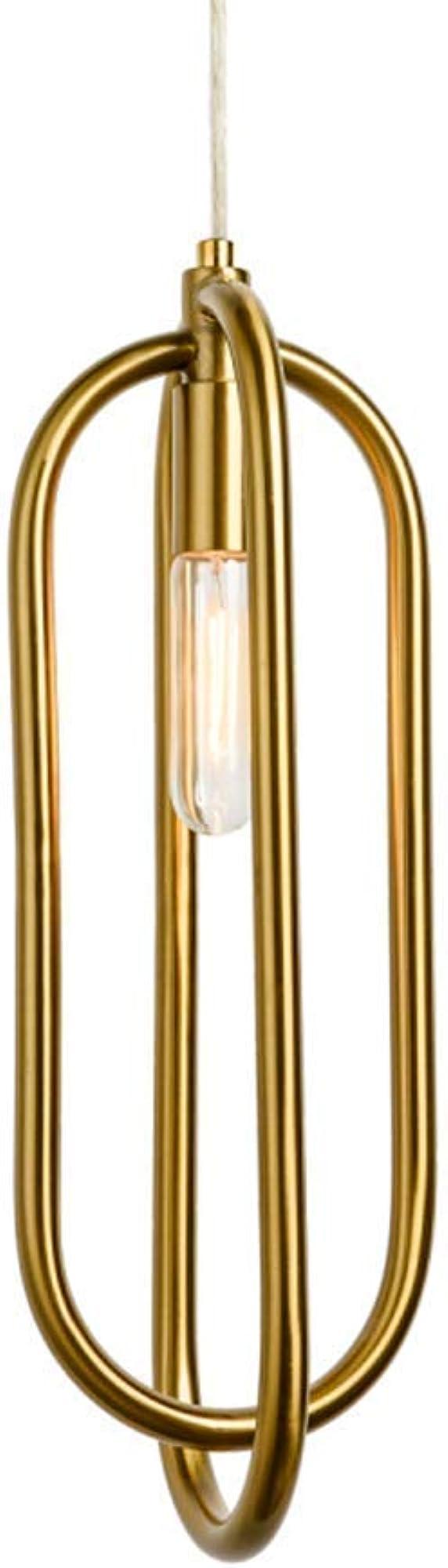 Xajgw lampadario moderno in metallo