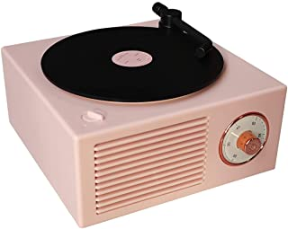 Old Fashioned Classic Style Bluetooth Speaker Pink Vinly...