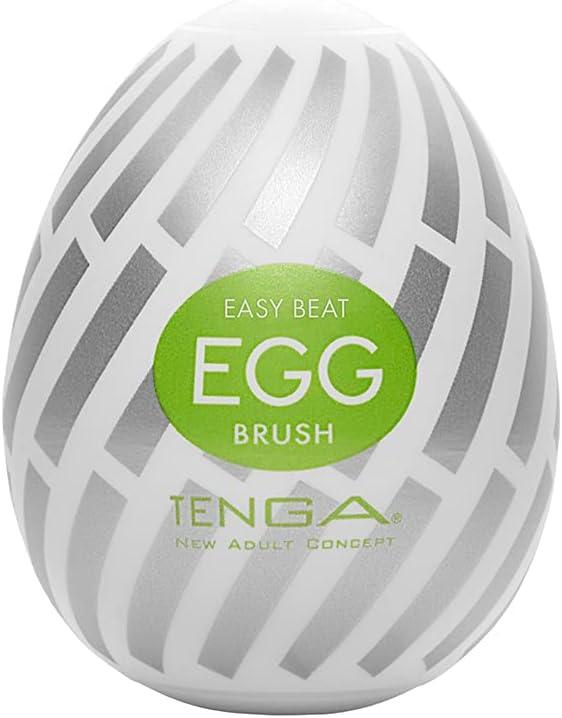Tenga Easy Beat Egg Male Masturbator 1 year warranty TENGA Brush Popular overseas EGG-015