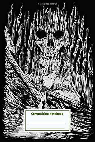 Composition Notebook: Haunted Stone Pretty Personalized Diary for Writing & Note Taking