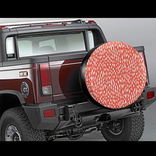 Autobandafdekking voor autobanden, romantisch, retrolook, voor aanhangers, RV, SUV en vele voertuigen, 14 - 17 inch