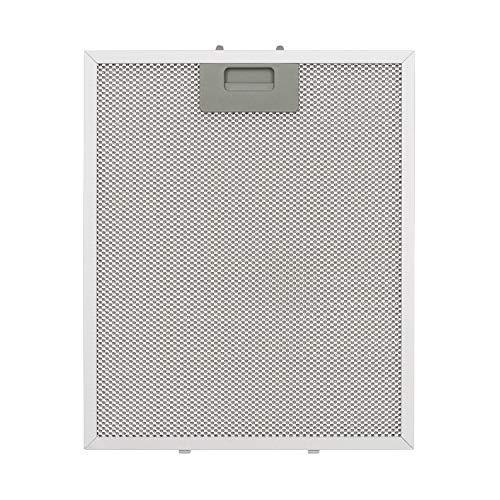 Klarstein filtro de aluminio para grasa, 28 x 34 cm, filtro de recambio, filtro de sustitución, accesorio