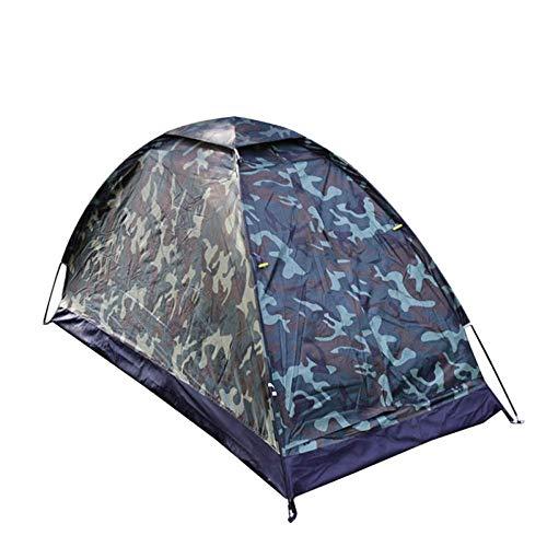 ZGYQGOO Campingzelt, wasserdichtes Einpersonen-Zelt-Tarnung-UVschutz im Freien für das Kampieren, das 200 * 100 * 100 cm wandert