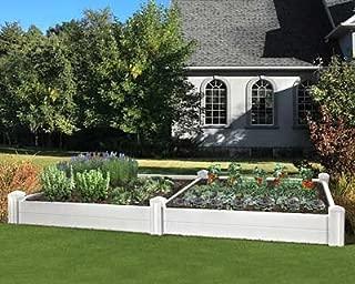Eden Versailles Deluxe Raised Garden Planter Bed, 10'L