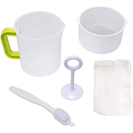 Kitchen Gadgets Soy Milk Nylon Mesh Fine Mesh Strainer Filter Spoon Filter Mesh