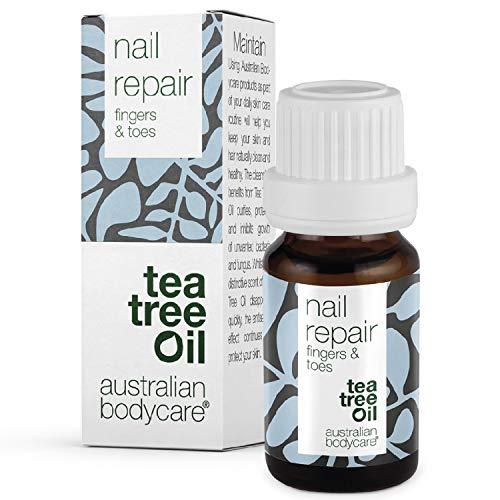 Australian Bodycare Nail Repair | Nagelpflege für Frauen und Männer für rissige, raue, spröde sowie gespaltene Fuß- und Fingernägel | Mit Pinselapplikator | Auch zur Pflege bei Nagelpilz | 10ml