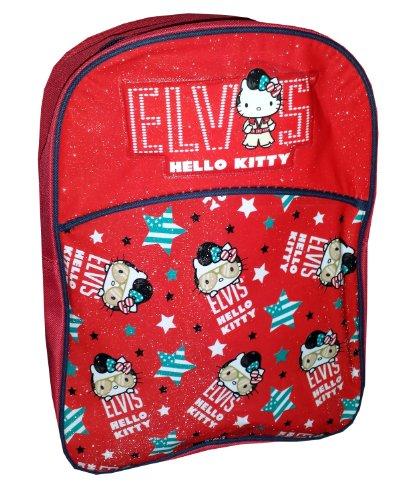 Kids Boys Girls Character Backpack Rucksack School Bag (Hello Kitty Elvis)