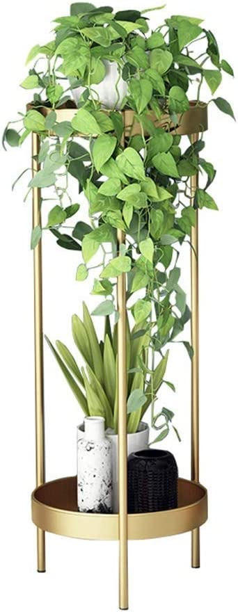 LXDZXY Plant Stands 2 Tiers Decorative Patio Flower Garden Excellent Stand Outlet SALE