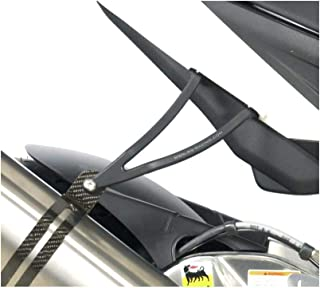 R&G Racing 16-19 Aprilia TuonoV411RRABS Exhaust Hanger (Standard) (Black)
