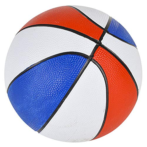 Lowest Price! Rhode Island Novelty 7 Inch Red White & Blue Mini Basketballs, Pack of 5
