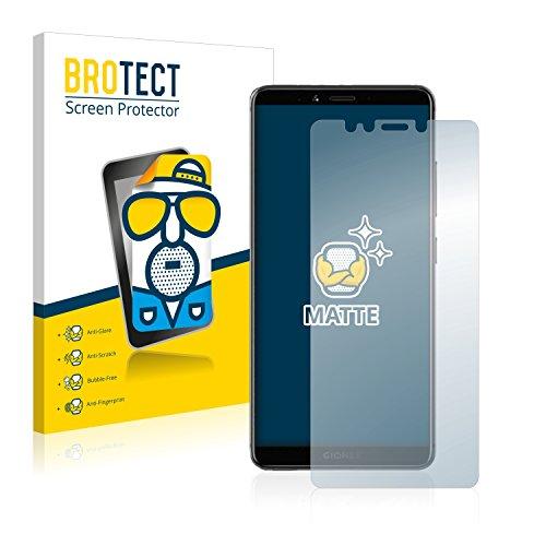 BROTECT 2X Entspiegelungs-Schutzfolie kompatibel mit Gionee M7 Bildschirmschutz-Folie Matt, Anti-Reflex, Anti-Fingerprint