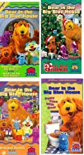 Bear in the Big Blue House set 4 vhs: Bear in the Big Blue House, Vol. 1 - Home Is Where the Bear Is / What's in the Mail Today, ear in the Big Blue House - Berry Bear Christmas , Bear in the Big Blue House, Vol. 7 - Birthday Parties / Giving , Bear in the Big Blue House - Potty Time with Bear