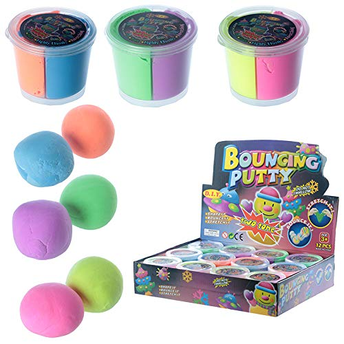 Fun Kids Bouncing Putty - Two Tone