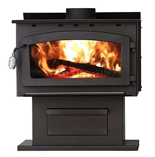 U.S. Stove Company US 2016EB King EPA Certified Wood Stove,...