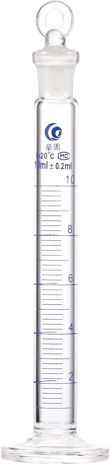 Sales results No. 1 Graduated Cylinders- 1Pc 10ml Glass Cylinder Gra Our shop OFFers the best service Thick Measuring