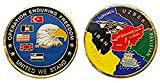 Operation Enduring Freedom Afghanistan Collectible Challenge Coin/Logo Poker/Lucky Chip