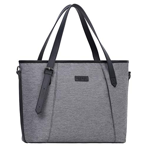 YESPER Insulated Lunch Bag for Women Reusable Large Lunch Tote Bag Thermal Leakproof Waterproof Cooler Lunch Box for Work,Adult,Picnic (Gray)