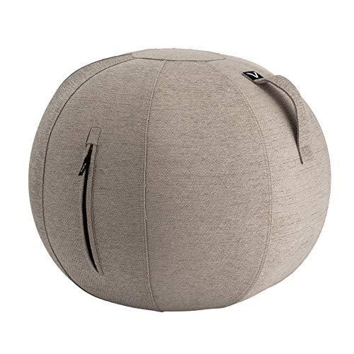 [ ビボラ ] Vivora シーティングボール ルーノ シェニール 65cm ベージュ V002-BW65-NAT Luno Pacific Chenille ヴィヴォラ バランスボール 椅子 デザイン ソファー 姿勢 オフィス 軽量 インテリア エクサ
