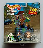 Hot Wheels Action Pack TOY STORY with RC CAR, BABY FACE, BUZZ & WOODY