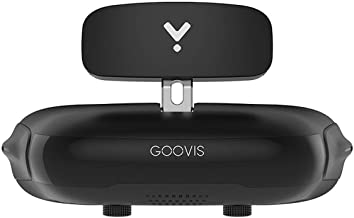 GOOVIS Young Head-Mounted Display, with HD M-OLED Display, Eye Protection HMD Compatible with Laptop PC Xbox One Drone PS4...
