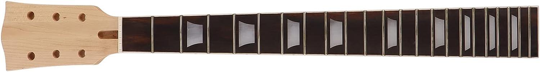 Yivibe Accesorios para Instrumentos Musicales, diapasón de Cuello de Guitarra Ajustable 22 trastes sostenido para GS405 para Instrumento Musical LP
