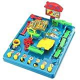 yotijar Murmeln Puzzles Labyrinth Spielzeug Herausforderung Brettspiel Brettspiel