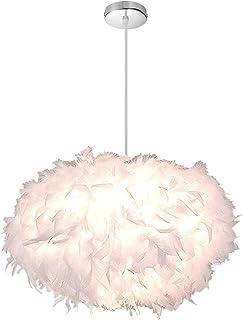 Blanc Abat-jour pour fond e27 ø50cm tissu parapluie kiroka