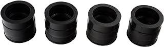 iFJF Carburetor Intake Manifold Boots 16211-323-000 for Honda CB500K CB550 CB550K CB550F Insulator Rubber(Set of 4)