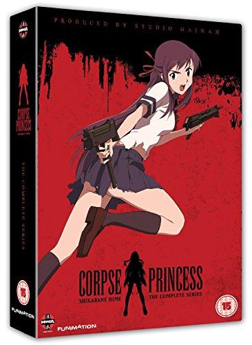 Shikabane Hime-Complete Series (4 DVD) [Edizione: Regno Unito] [Import]
