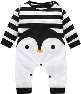 Best baby penguin baby jumpsuit in black unisex Reviews