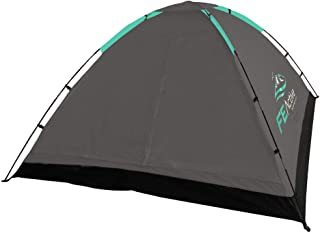 FE Active 4 Person Camping Tent - 2021 Upgraded Design Summer Pop Up Tent 3 to 4 Person Tent Lightweight, Compact, Screene...