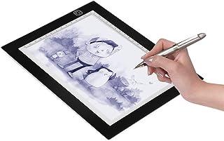 Animazione Schizzi Disegno 9x12 Pollici Light Pad Ultra-thin 5mm Power Table USB per Artisti Light Box Tracing A4