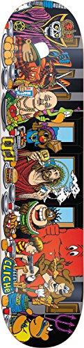 Generic Cliche Skateboard-Letzte Abendmahl Deck, 10026324, Mehrfarbig, 8