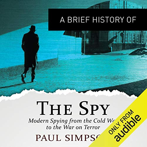A Brief History of the Spy audiobook cover art