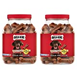 Milk-Bone Soft & Chewy Beef & Filet Mignon Recipe dog snacks 15 vitamins & minerals Healthy & delicious Made with real filet mignon For dogs of all sizes