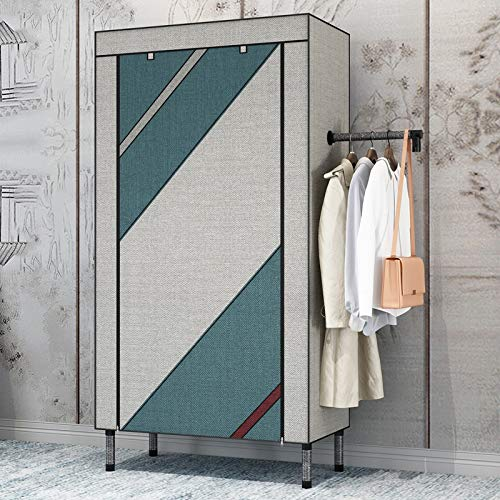 Best Deals! WSZJJ New Type of Combined Wardrobe Simple Bedroom Furniture Modern Economic Assembly Wa...