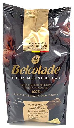 Belcolade 1kg Extra-Bitter 80% ugandischen Schokolade