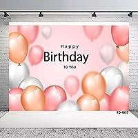MARYSHARONお誕生日おめでとうパーティーデコレーション背景布写真撮影背景布小道具CF96150x210cm