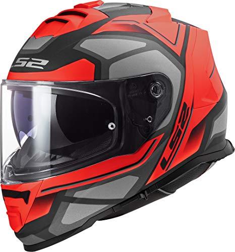 LS2 - Casco integral para moto Storm Faster